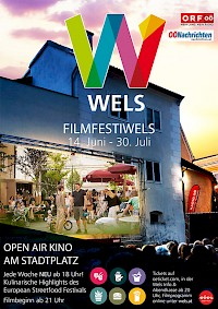 Plakat FilmfestiWels 2017 (c) Wels Marketing & Touristik